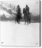 Winter Trek   1908 Acrylic Print