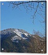 Winter Vista From Grants Pass Acrylic Print
