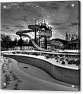 Winter Water Park Acrylic Print