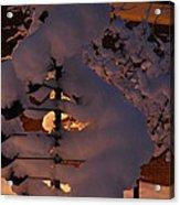 Winter Whirligig Acrylic Print