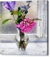Winter Windowsill Acrylic Print