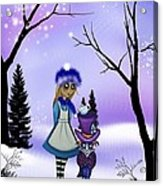 Winter Wonderland Acrylic Print by Charlene Murray Zatloukal
