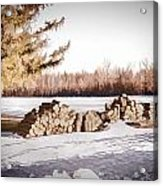 Winter Wood Acrylic Print
