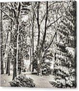 Winter Zauber 03 Acrylic Print