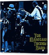 Winterland Blues With The Marshall Tucker Band 1976 Acrylic Print