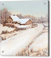 Winterness Acrylic Print by Michelle Wiarda