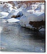 Winter's Blanket Acrylic Print