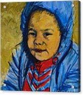 Winter's Child Acrylic Print