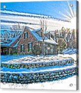Winters Day Photoart 6 Acrylic Print