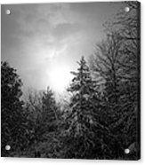 Winter's Eve Acrylic Print