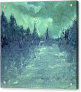 Winters Fog Acrylic Print