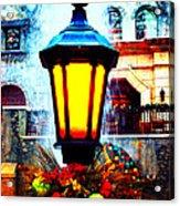 Winter's Glow Acrylic Print