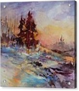 Winters Light Acrylic Print
