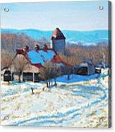 Winter's Mantle Acrylic Print