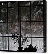 Winters Reflection Acrylic Print