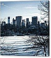 Winter's Touch - Manhattan Acrylic Print