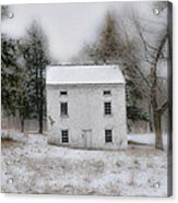 Wintertime In Valley Forge Acrylic Print by Bill Cannon