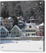 Wintery Alton Bay Nh Acrylic Print