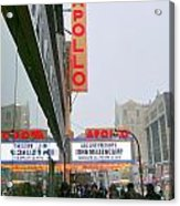 Wintry Day At The Apollo Acrylic Print