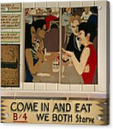 Wintzell's Oyster House Sign - Mobile Alabama Acrylic Print