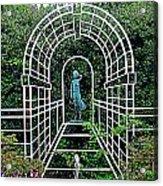 Wire Garden Arch Acrylic Print