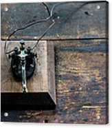 Wire Message Acrylic Print