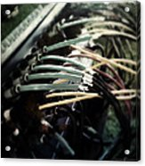 Wired For Sound Acrylic Print