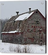 Wisconsin Barn Acrylic Print