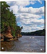 Wisconsin Dells Jetski Acrylic Print