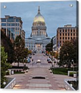 Wisconsin State Capitol Building Acrylic Print