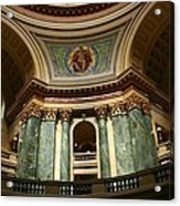Wisconsin State Capital Building 1  Acrylic Print