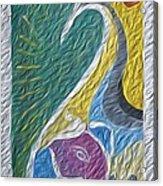 Wisdom And Peace I Acrylic Print