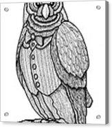 Wisdom Owl Acrylic Print