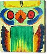 Wise Bird Totem Acrylic Print