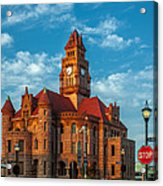 Wise County Courthouse Acrylic Print