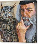 Wise Guys Acrylic Print