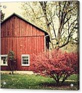 Wise Old Barn Summertime Acrylic Print