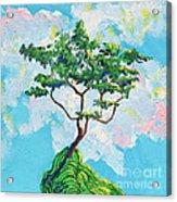 Wish Bone Tree Acrylic Print