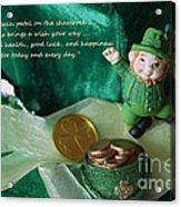 Wishing You A Happy St. Patricks Day Acrylic Print