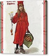 Wishing You Health Wealth And Happiness Greeting Card Acrylic Print