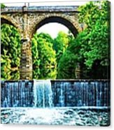 Wissahickon Falls Acrylic Print