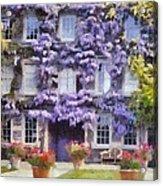 Wisteria Covered House Acrylic Print