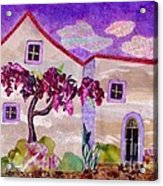 Wisteria In Bloom Acrylic Print
