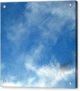 Wistfulness In The Sky  Acrylic Print