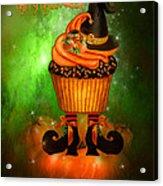 Witch Cupcake 4  Acrylic Print