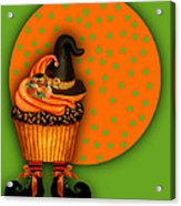 Witch Cupcake 5 Acrylic Print