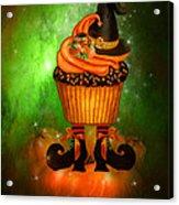 Witch Cupcake 6 Acrylic Print