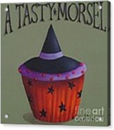 Witches Hat Tasty Morsel Cupcake Acrylic Print