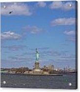 With Liberty... Acrylic Print