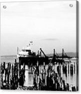 With'in The Harbor Acrylic Print